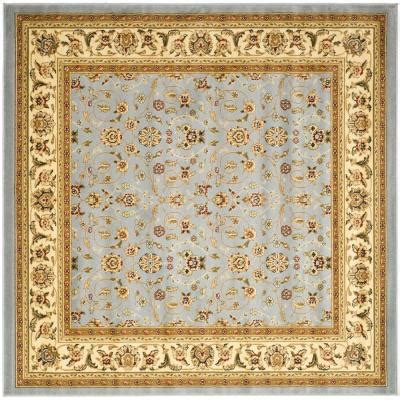 safavieh lyndhurst light blue ivory 10 ft x 10 ft square