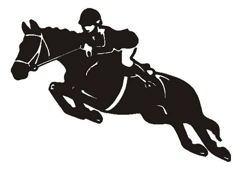 clipart cavalli horses jumping clipart