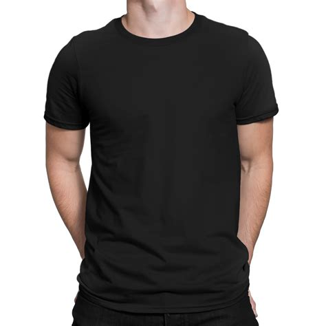 T Shirt Ibanez Black s basic black t shirt by silly punter in india