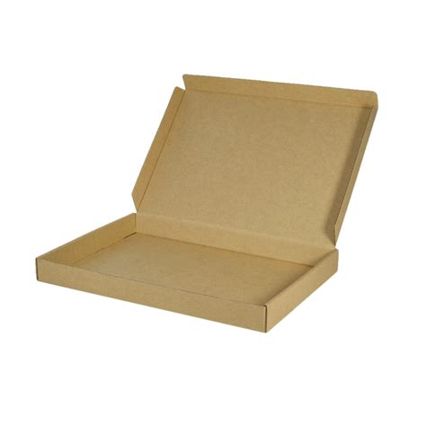 white cardboard a4 oversized one piece gift box