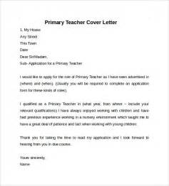 primary cover letter cover letter exle for teaching jianbochen