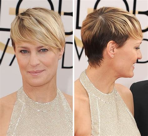 robin wright s hair color change in house of cards pics robin wright s golden globe awards look stunning