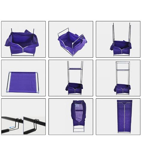 Foldable Wardrobe by Space Saving Foldable Wardrobe By Kawachi