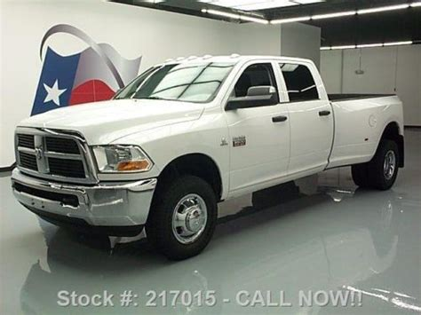 Sell used 2012 DODGE RAM 3500 CREW 4X4 DUALLY DIESEL LONG