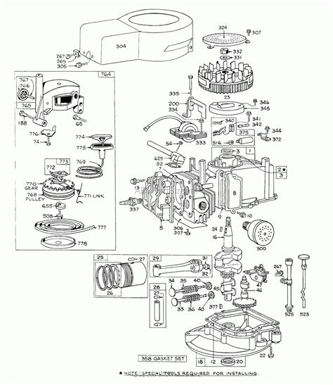 parts diagram for briggs stratton engine briggs stratton engine parts and diagrams automotive