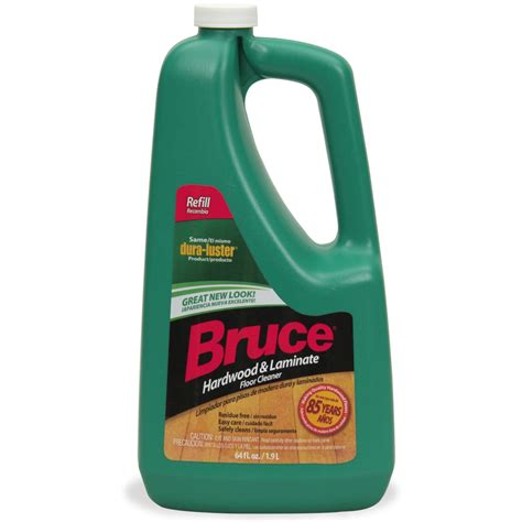 shop bruce 64 fl oz hardwood floor cleaner at lowes com
