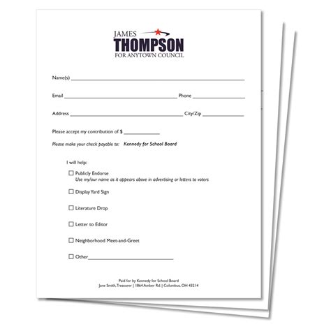 100 non profit donation form template gala salute