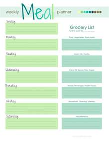 family menu planner template 25 best ideas about weekly meal planner on