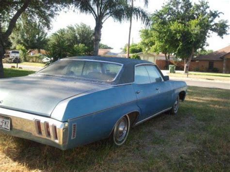 1970 Impala 4 Door by Find Used 1970 Chevy Impala 4 Door In Mission United States For Us 4 200 00