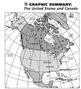 map of canada and the united states mhsgeography unit 5 introduction to the united states canada