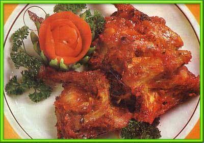 Bumbu Ayam Bumbu Rujak resep masakan ayam bumbu rujak sederhana resep menu masakan