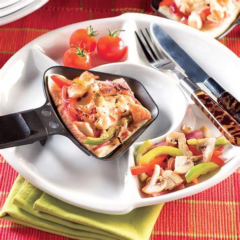 cuisine et recettes pizza raclette recettes cuisine et nutrition pratico