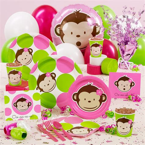Baby Monkey Decorations Baby Shower by Monkey Baby Shower Decorations Pink