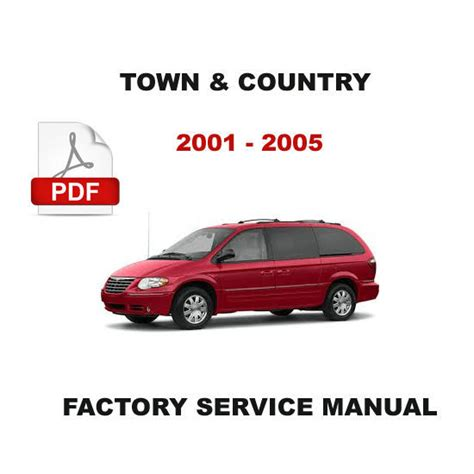 free book 2005 chrysler town and country repair manual pdf 2018 2019 honda cr v chrysler town country 2001 2005 factory service repair workshop oem manual other books