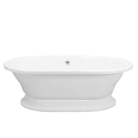 extra wide bathtubs double ended extra wide pedestal tub the loo store