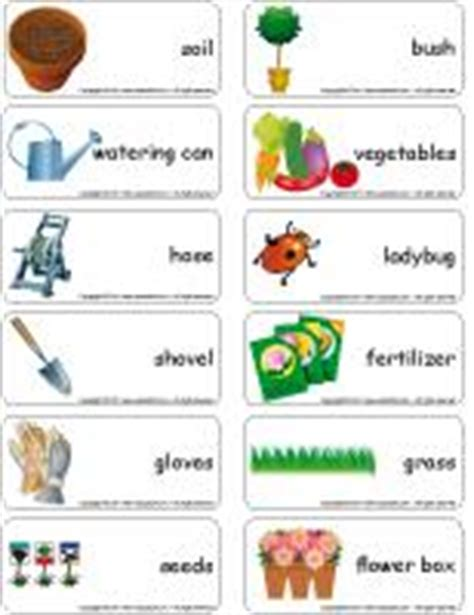 Garden theme and activities educatall