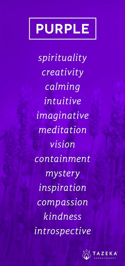 what does the color purple 176 purple color psychology tazekaaromatherapy design