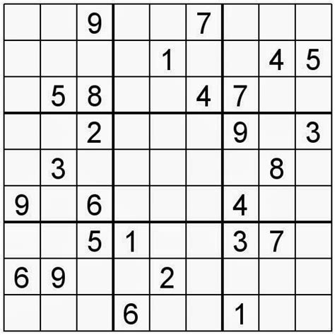 Printable Sudoku And Word Search Puzzles | free printable word search and sudokus sudoku 32