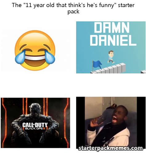 Pictures For Memes - the best of starter pack memes 187 11 year old that think s