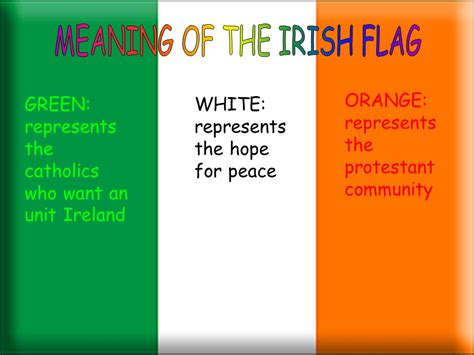 what do the colors mean on the irish flag ireland ireland francesca pisati marta severgnini viola