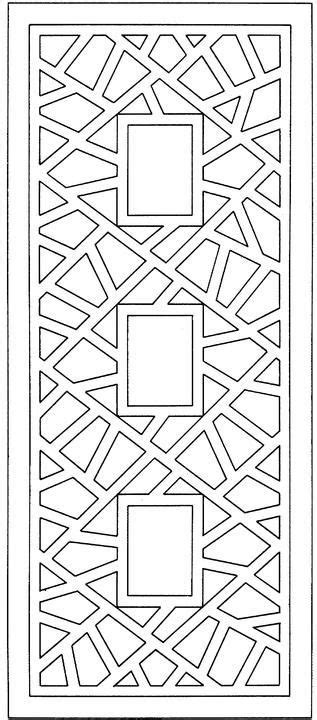 difficult geometric design coloring pages rectangles 170 best images about design cnc patterns on pinterest