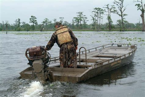 duck blind with boat hide gator trax boats gator hide duck boat blind