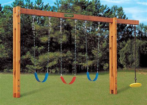 freestanding swingset fun   kids backyard