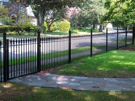decorative metal garden fence home depot wrought iron