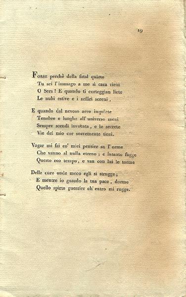 alla sera testo poesia italiana per studenti stranieri quot alla sera quot di ugo