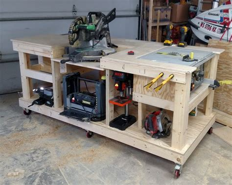 Workshop Table Layout | 30 woodworking storage ideas pdf diy woodworking shop