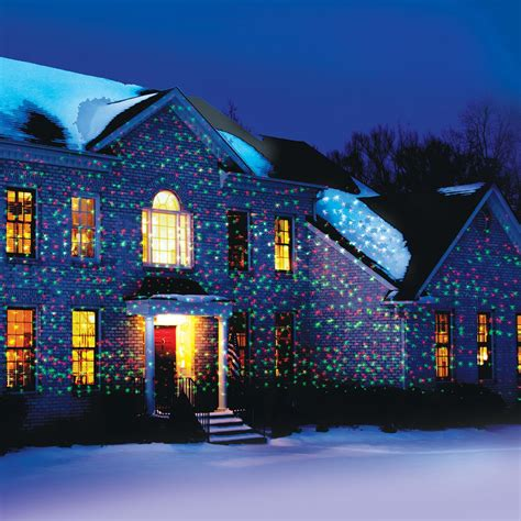 star shower motion projected outdoor and indoor christmas