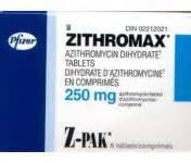zithromax z pak patient information description dosage