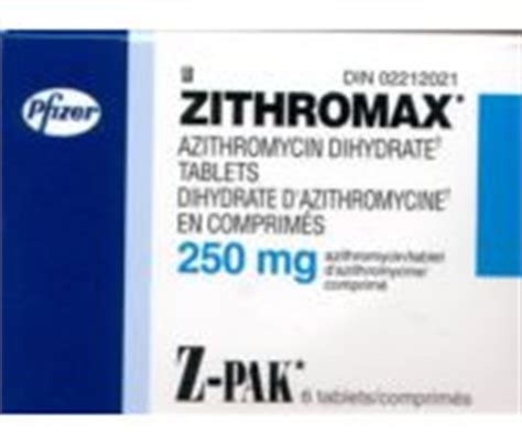 z apk zithromax z pak patient information description dosage and directions