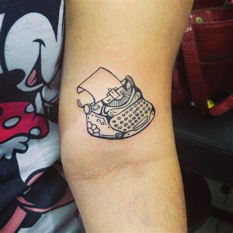 typewriter tattoo typewriter this is tattoos a