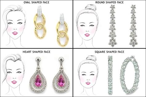best earrings for diamond shaped faces a mini guide on how to choose earrings for your face shape