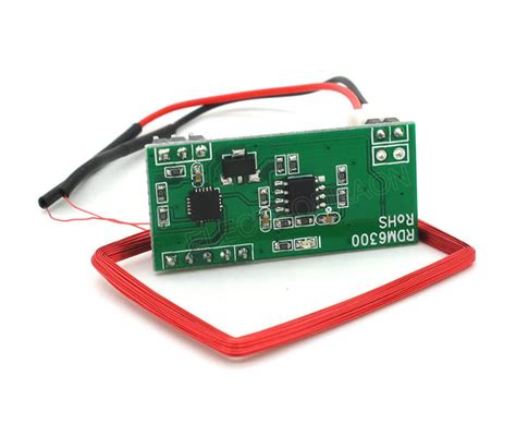 em4100 125khz rfid card read module rdm6300 rdm630 uart electrodragon