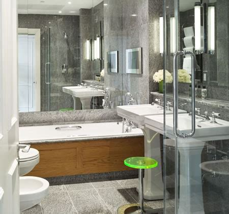 bathtub mirror 20 bathrooms with mirrors above bathtubs shelterness