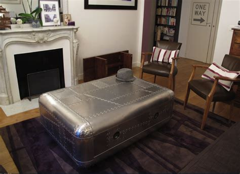 Table Basse Zinc by Zinc Table Basse Airstream