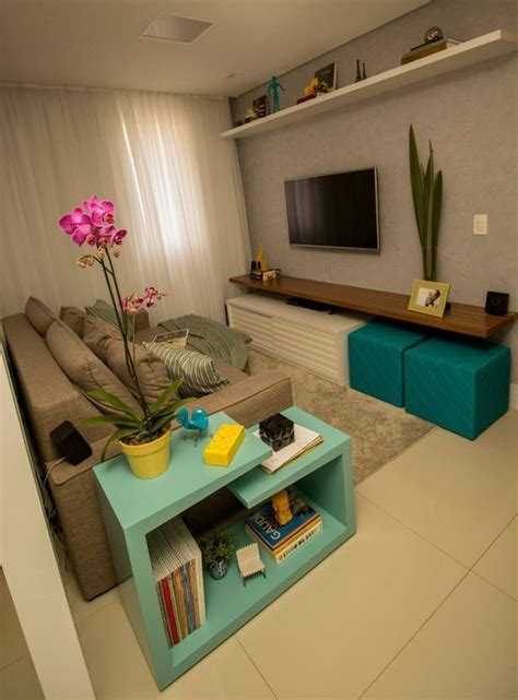 ideas  decorar  living pequeno casa web