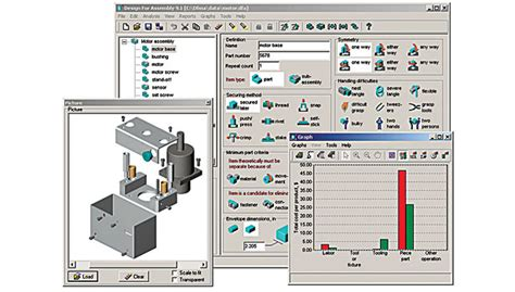design for manufacturing boothroyd dfma software generates cost efficient product design