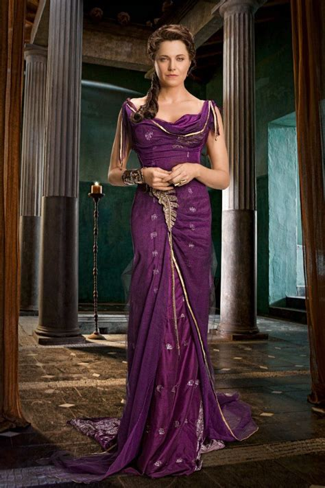 lucy movie heroine photos lucy lawless as lucretia in spartacus vengeance or ursula