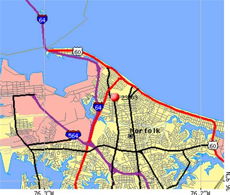 zip code map norfolk va 23503 zip code norfolk virginia profile homes