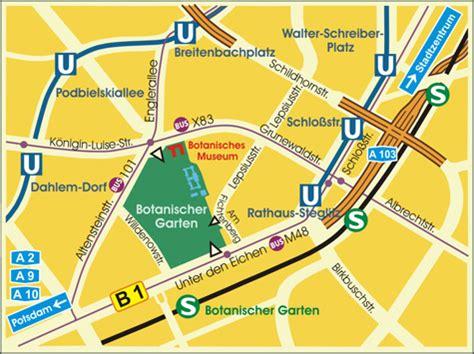 botanischer garten berlin vermietung bgbm verkehrsverbindung transportation
