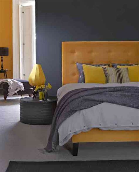 yellow and grey bedroom decorating ideas 69 colorful bedroom design ideas digsdigs