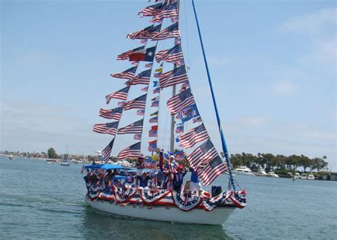 old glory boat parade read celebration chic the old glory boat parade at the