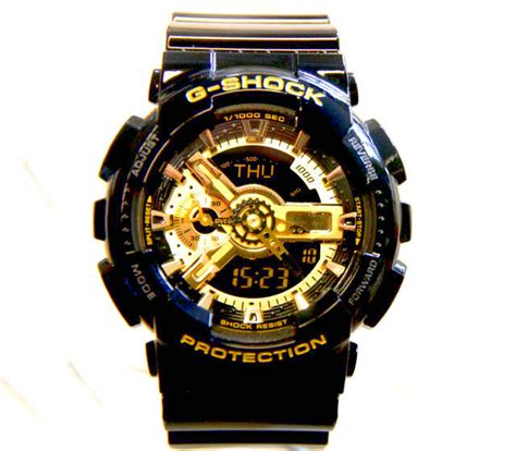 Casio G Shock Ga 110 1a Black the mumble tumble black x gold ga 110gb 1a g shock on 50gs