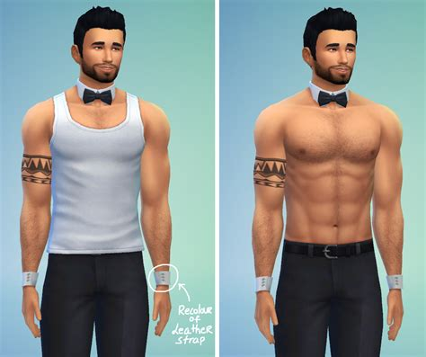 necklace bow tie at bukovka 187 sims 4 updates my sims 4 blog bowtie necklace cuff bracelets by