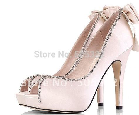 high heel pumps sale jws248 sale free shipping pink or ivory satin high