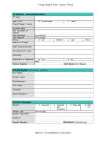 software request form template software change request form