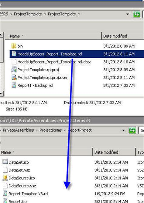 Report Template For Visual Studio 2008 Creating A Reporting Service Report Template